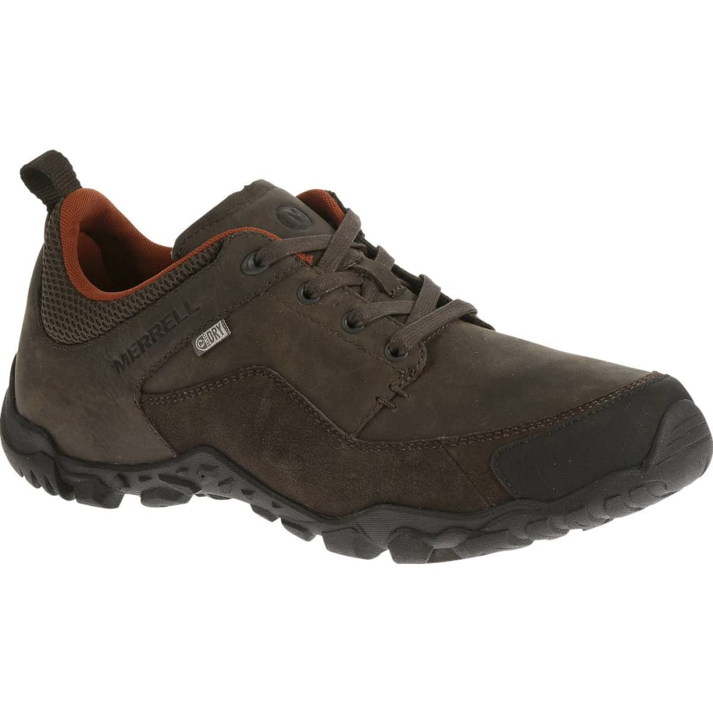 MERRELL Men's Telluride Waterproof Shoes, Espresso - ESPRESSO