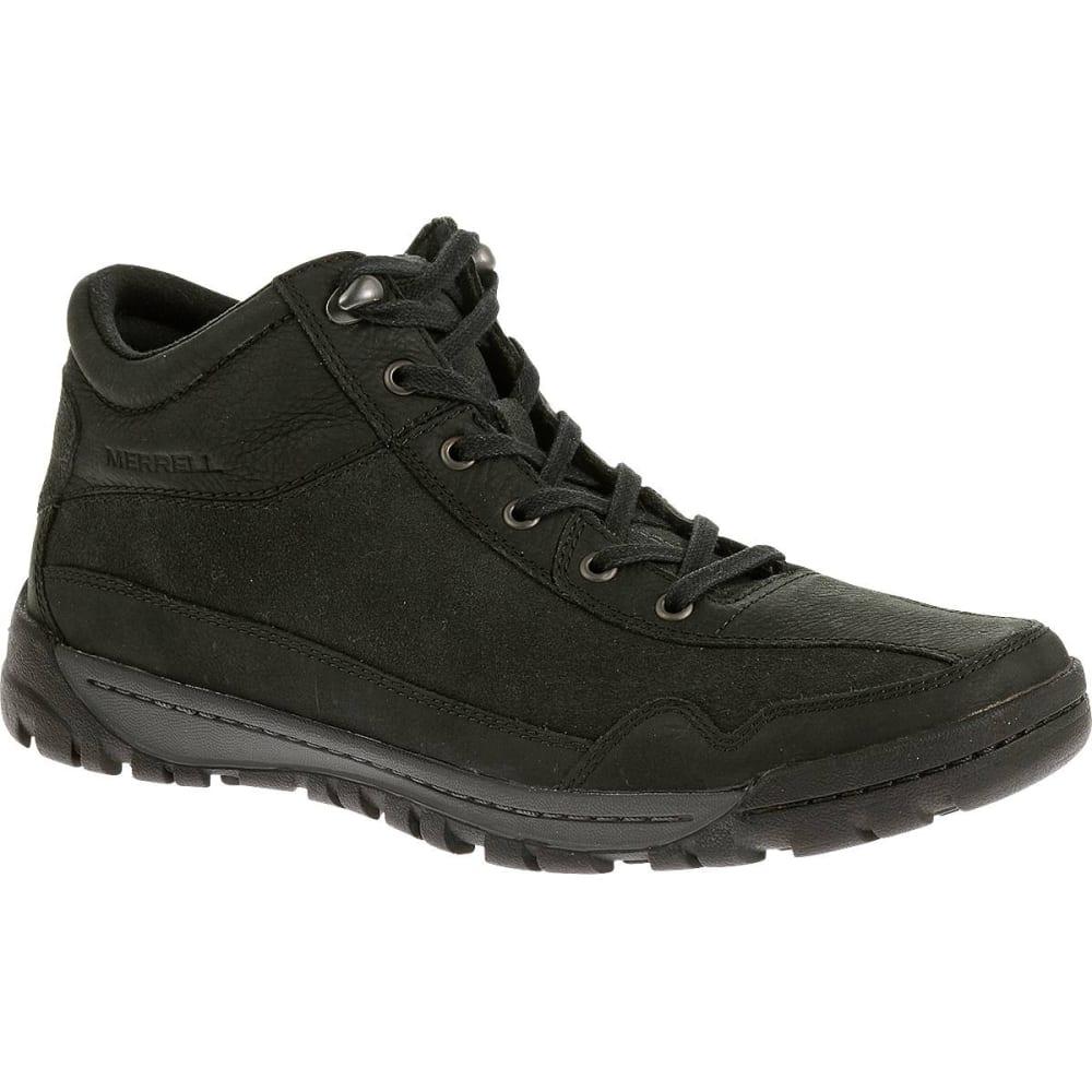 merrell s traveler field mid boots black