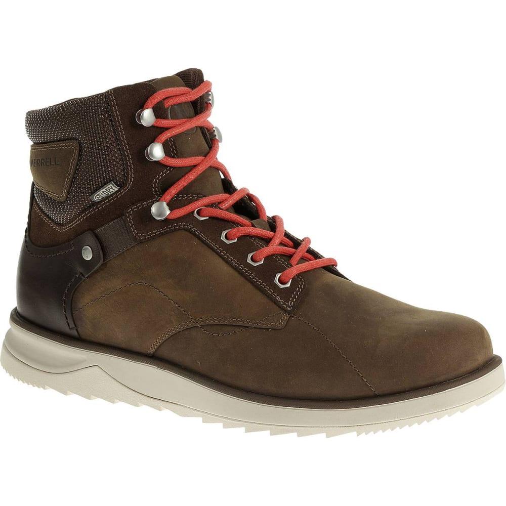 MERRELL Men's Epiction Mid Waterproof Hiking Boots, Brown Sugar - BROWN  SUGAR