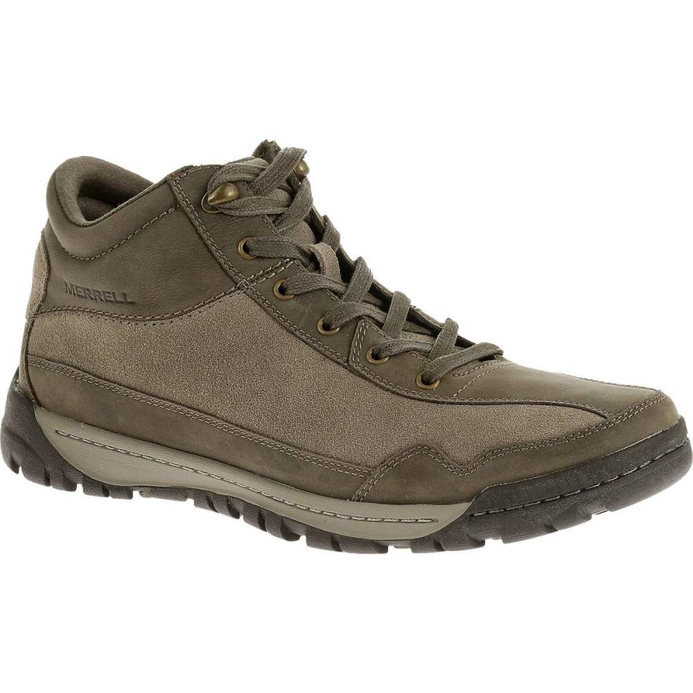MERRELL Men's Traveler Field Mid Boots, Boulder - BOULDER