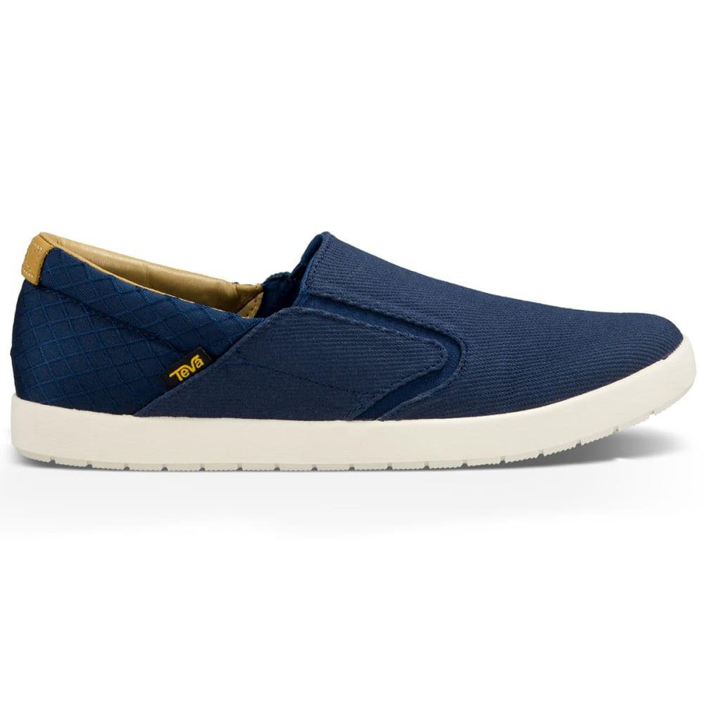 ... TEVA Men's Sterling Slip-On Shoes, Navy - ...