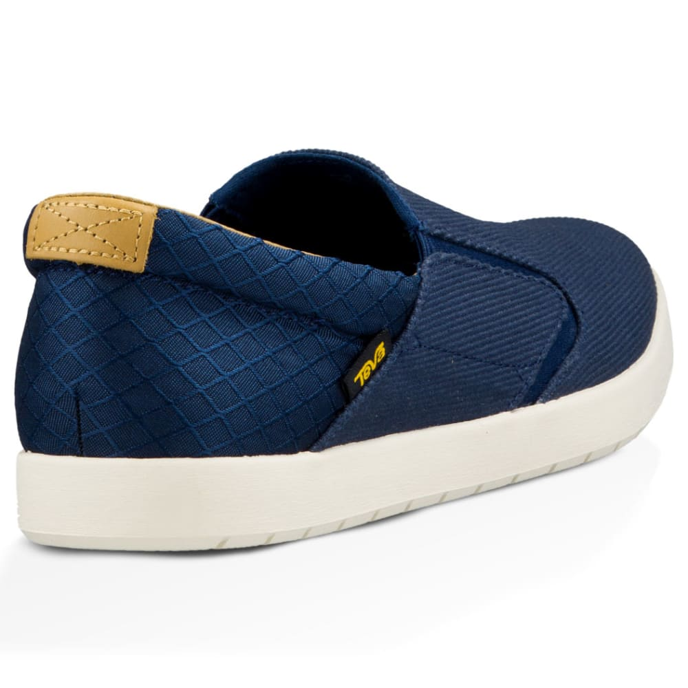 TEVA Men's Sterling Slip-On Shoes, Navy - NAVY