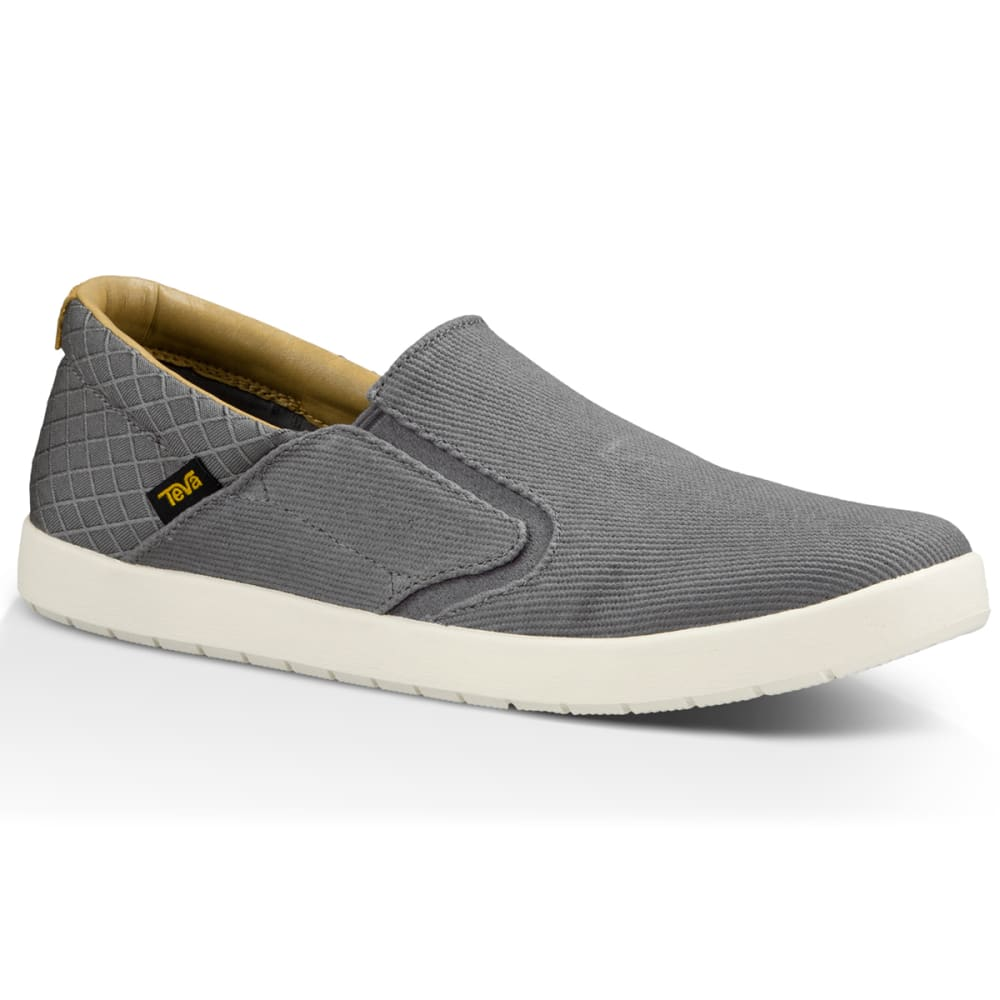 TEVA Men's Sterling Slip-On Shoes, Grey - GREY