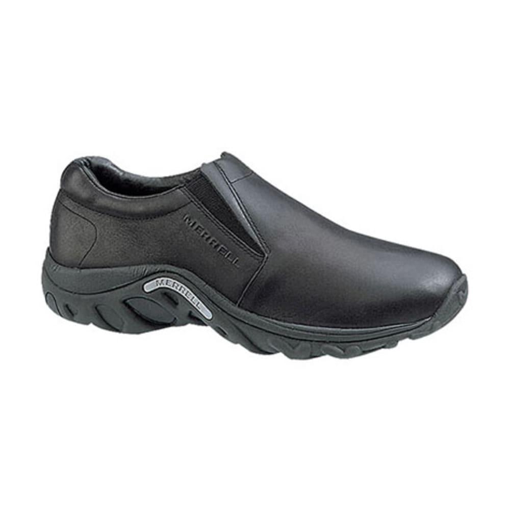 MERRELL Men's Jungle Moc Nubuck Shoes, Midnight 6
