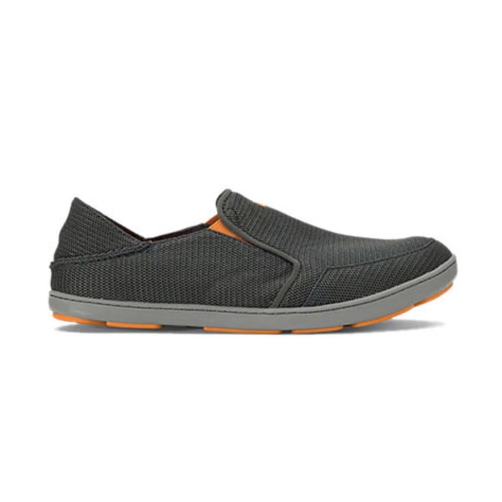 OLUKAI Men's Nohea Mesh Slip-on Shoes - DARK SHADOW