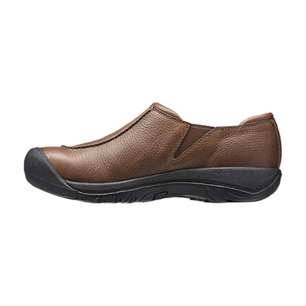 KEEN Men's Austin Slip-On Shoes, Cascade Brown - CASCADE