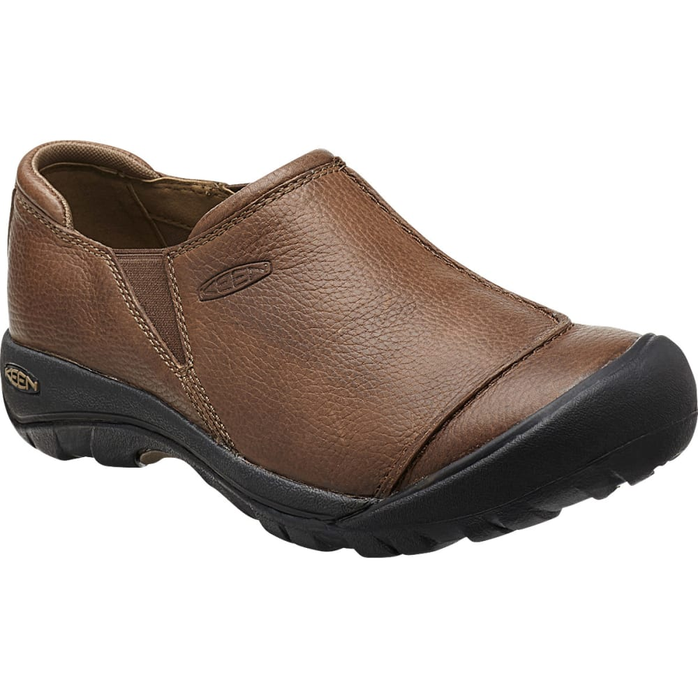 KEEN Men's Austin Slip-On Shoes, Cascade Brown - CASCADE