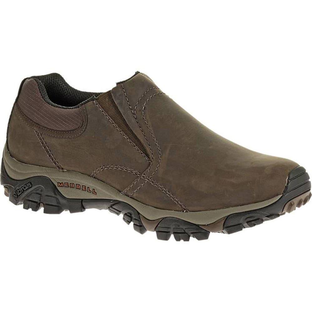 MERRELL Men's Moab Rover Moc Shoes, Espresso, Wide - ESPRESSO