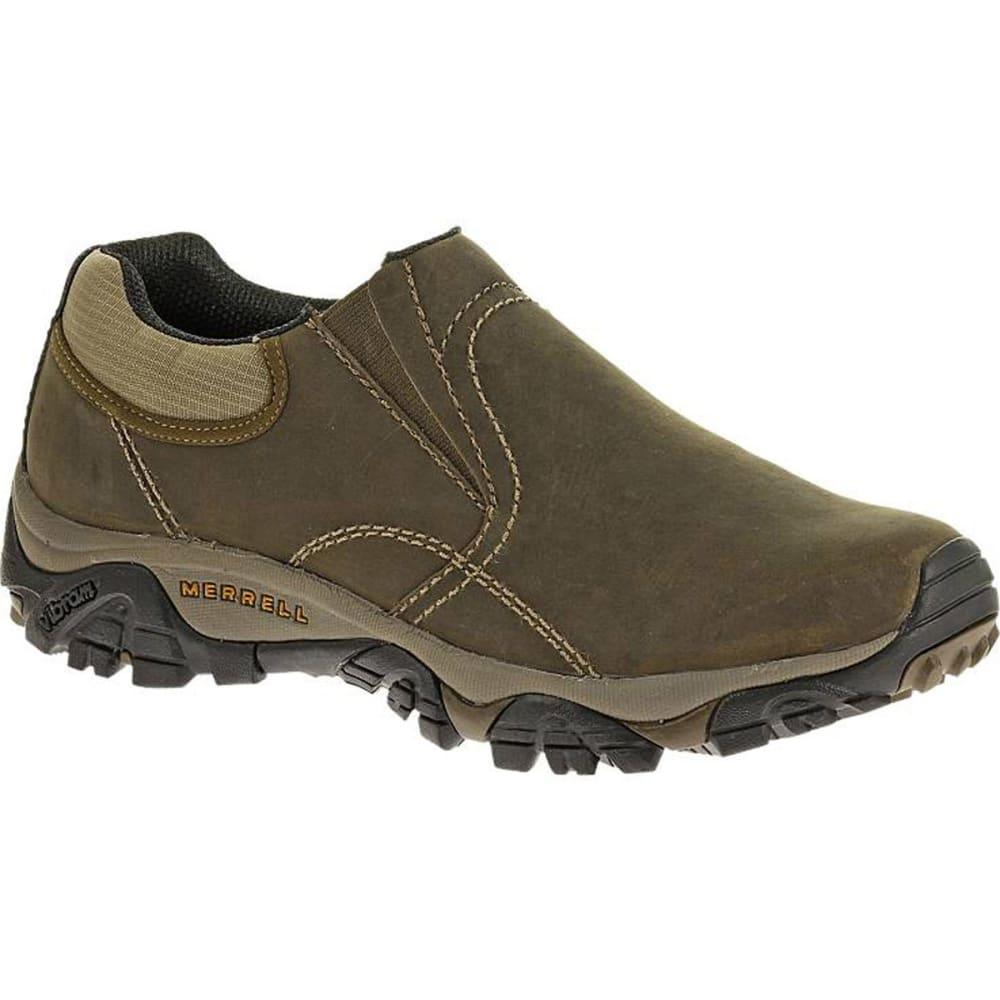 MERRELL Men's Moab Rover Moc Shoes, Kangaroo, Wide - KANGAROO