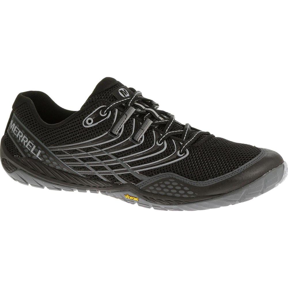 MERRELL Men's Trail Glove 3 Shoes, Black/Light Grey - BLACK/LIGHT GREY