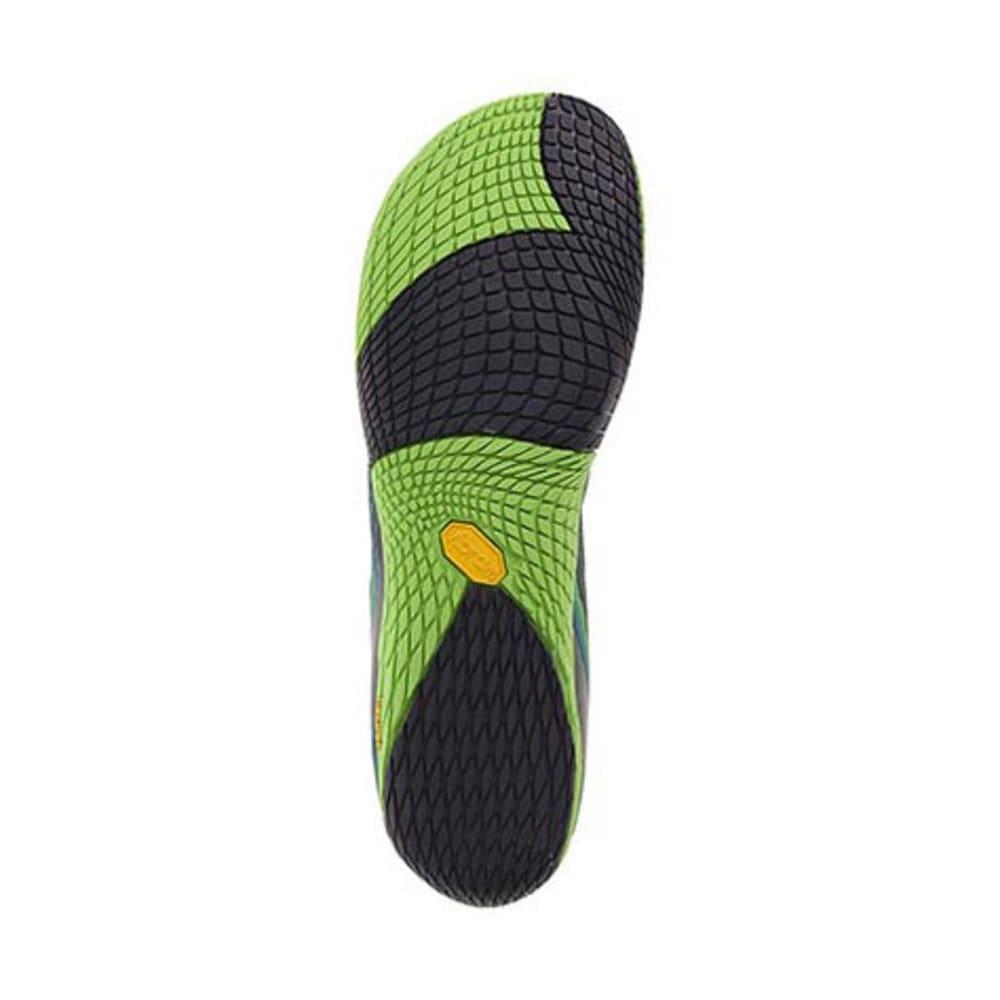 MERRELL Men's Vapor Glove 2 Trail Running Shoes, Racer Blue/Bright Green - RACER BLUE/BRIGHT GR