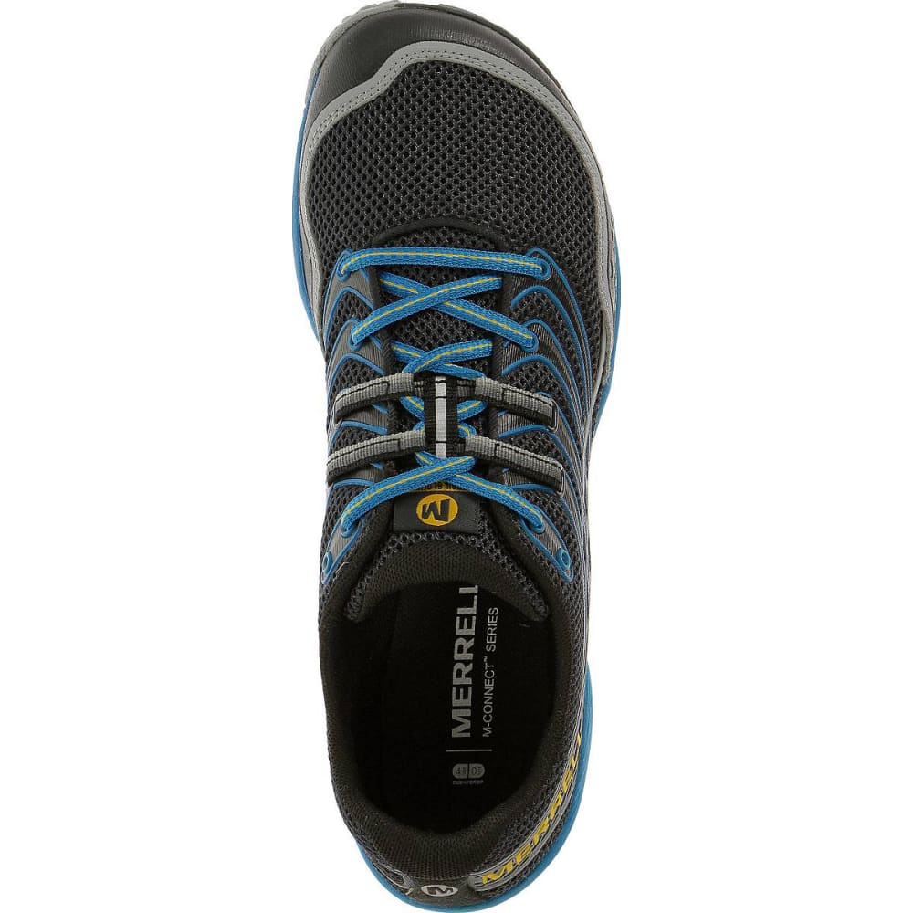 MERRELL Men's Trail Glove 3 Shoes, Navy/Racer Blue - NAVY/RACER BLUE