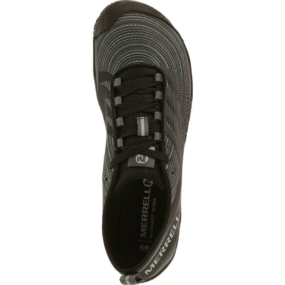 MERRELL Men's Vapor Glove 2 Trail Running Shoes, Black/Castle Rock - BLACK/CASTLE ROCK