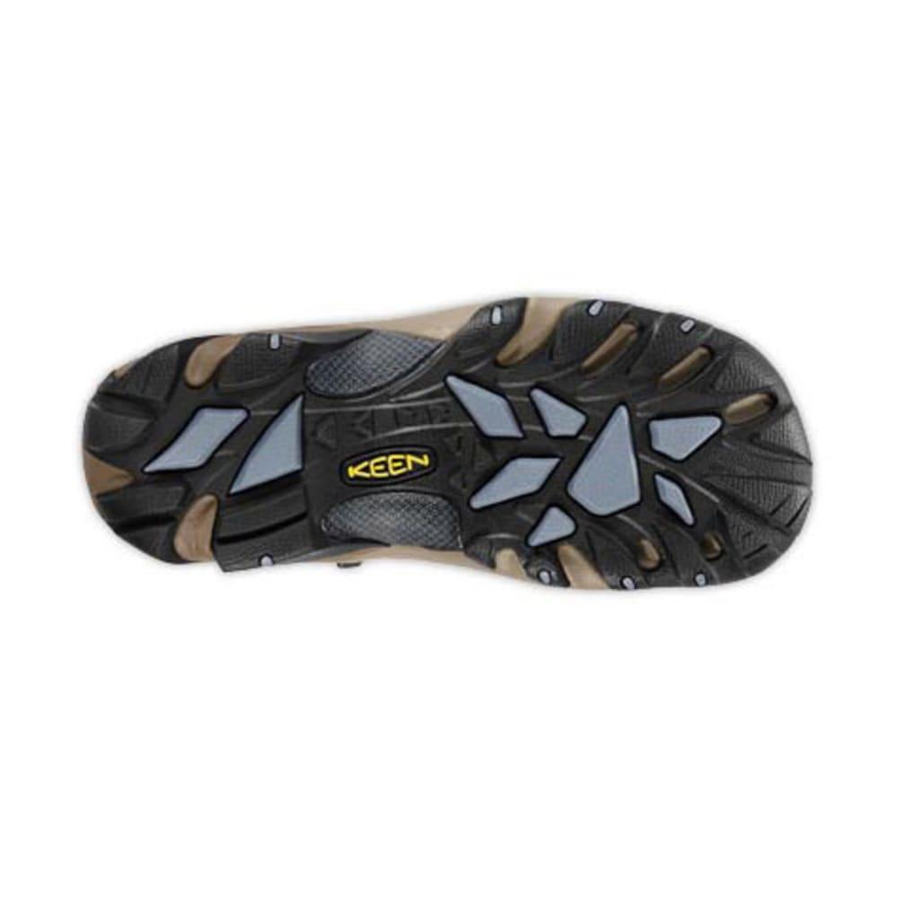 KEEN Women's Targhee II Mid Waterproof Hiking Boots - BRN SLATE BLK/F STN