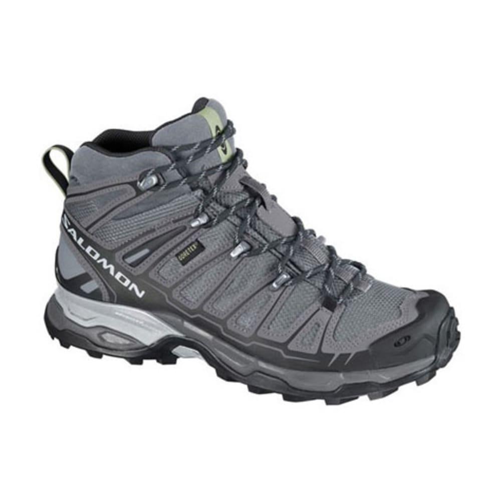 6cc130378c15 SALOMON Women  39 s X Ultra Mid GTX Hiking Boots - PEARL GREY