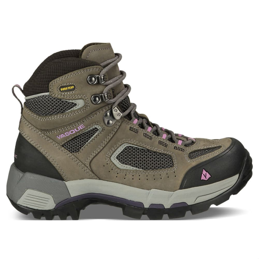 VASQUE Women's Breeze 2.0 GTX Hiking Boots, Gargoyle/Violet, Wide