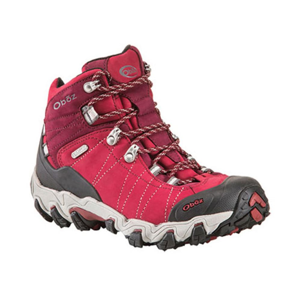 OBOZ Women's Bridger BDry Hiking Boots, Rio Red - RIO RED