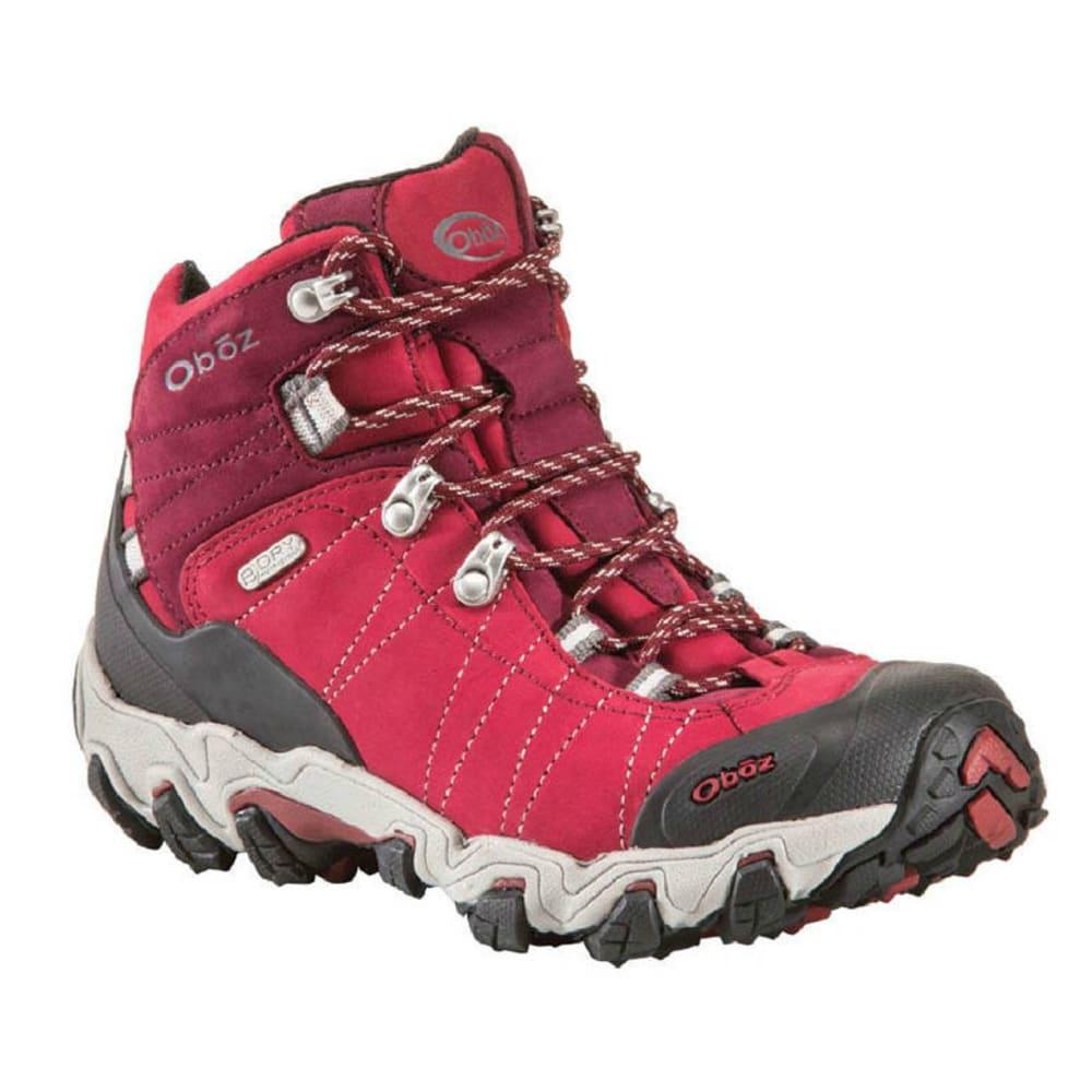 Oboz Women S Bridger Bdry Hiking Boots Rio Red