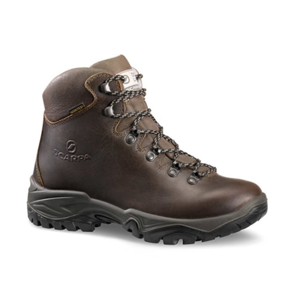 SCARPA Women's Terra GTX Hiking Boots, Brown - BROWN