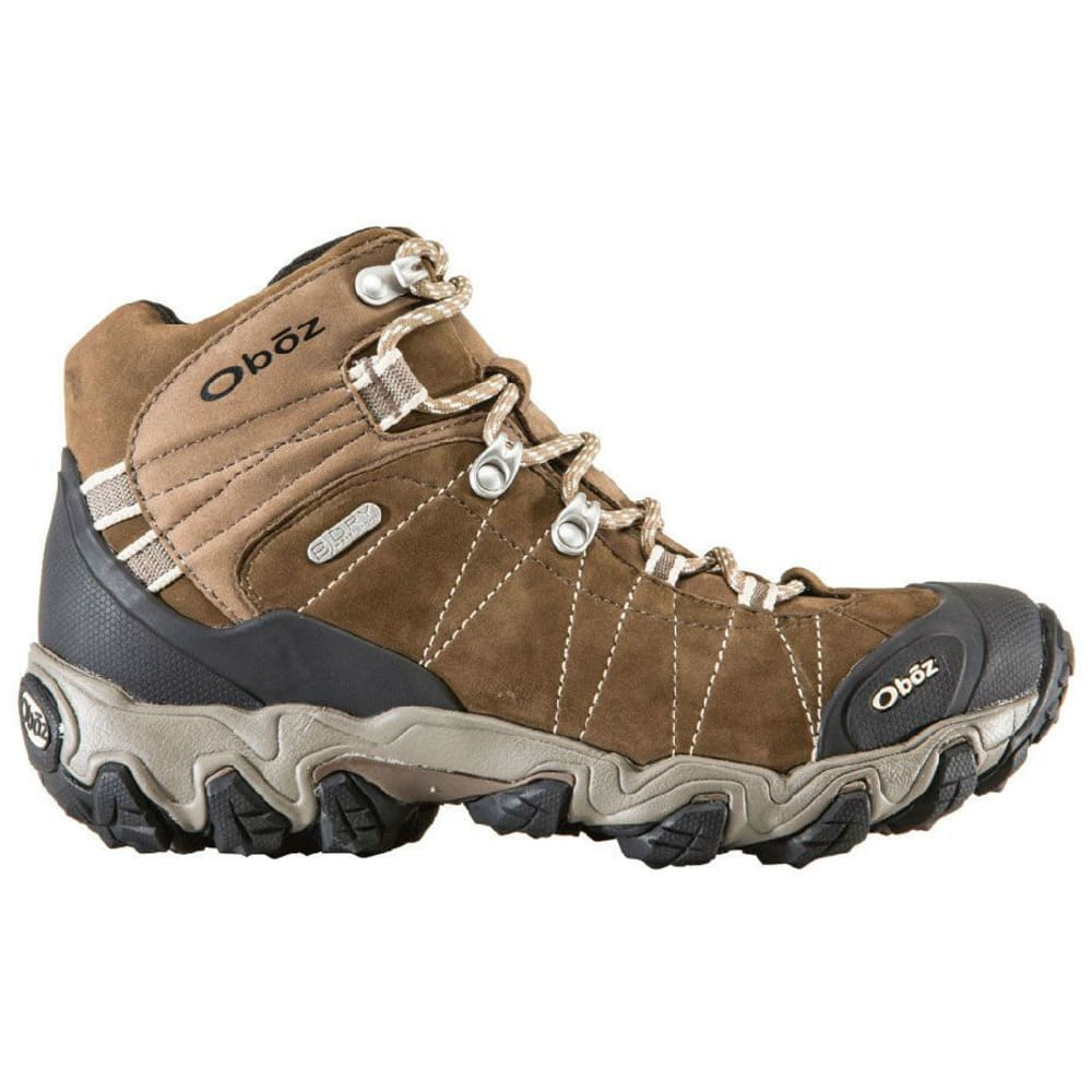 OBOZ Women's Bridger BDry Hiking Boots, Walnut - WALNUT