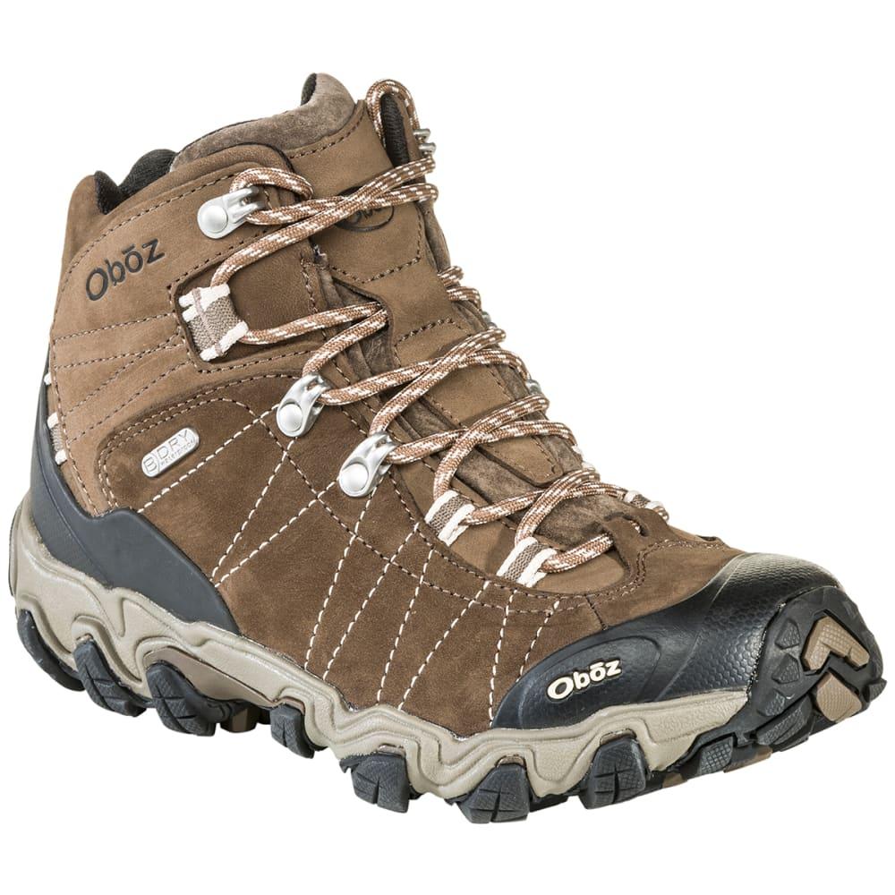 Oboz Women S Bridger Bdry Hiking Boots Walnut