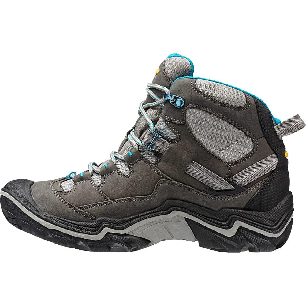 58f57ad58d9 KEEN Women's Durand Mid WP Hiking Boots, Gargoyle
