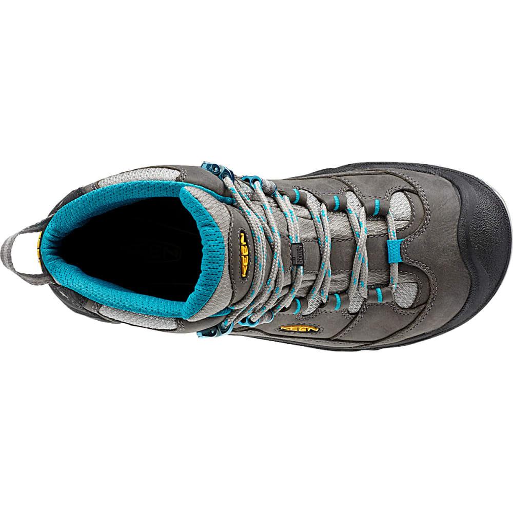 KEEN Women's Durand Mid WP Hiking Boots, Gargoyle - GARGOYLE