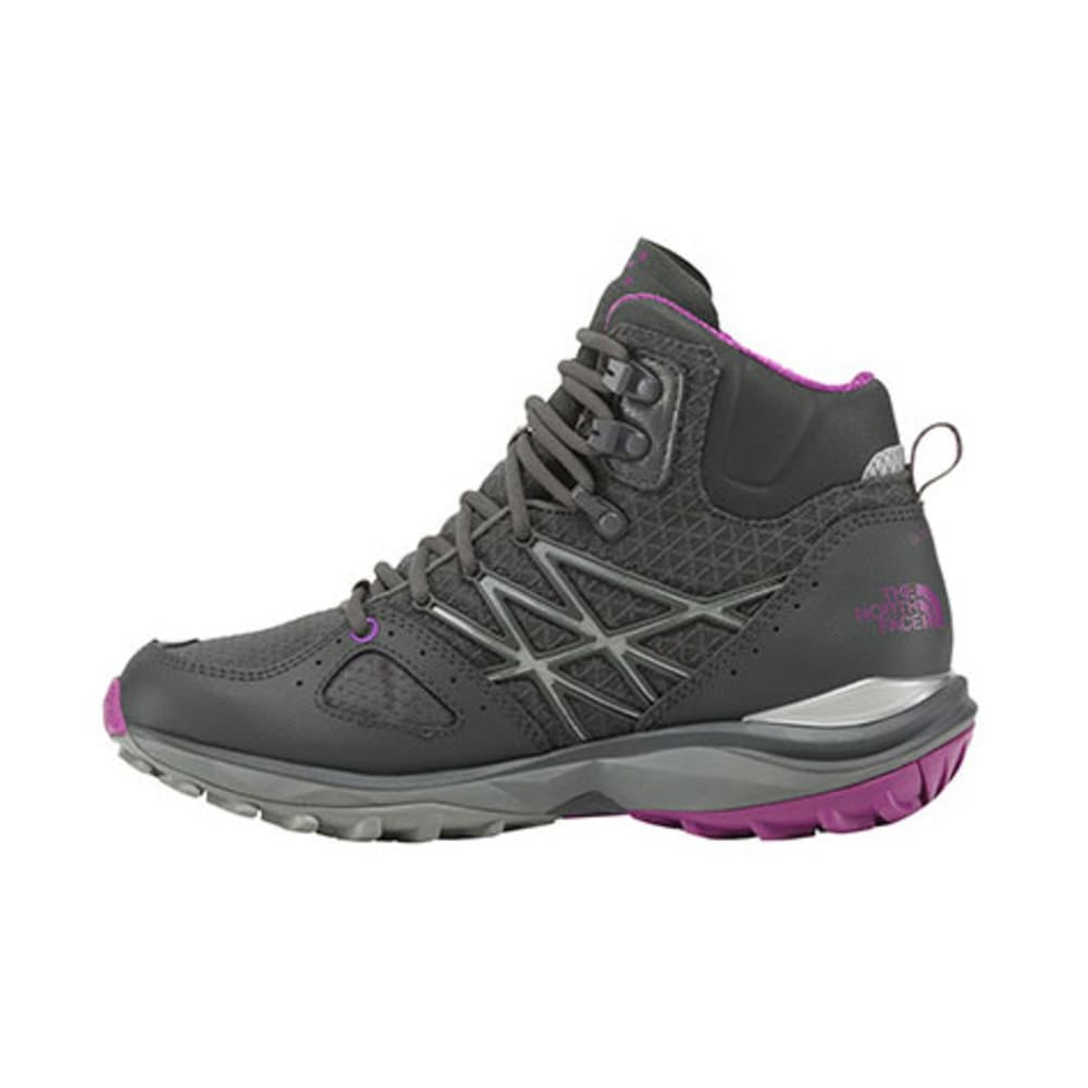 THE NORTH FACE Women's Ultra Fastpack Mid GTX Hiking Boots, Dark Shadow Grey - DARK SHADOW