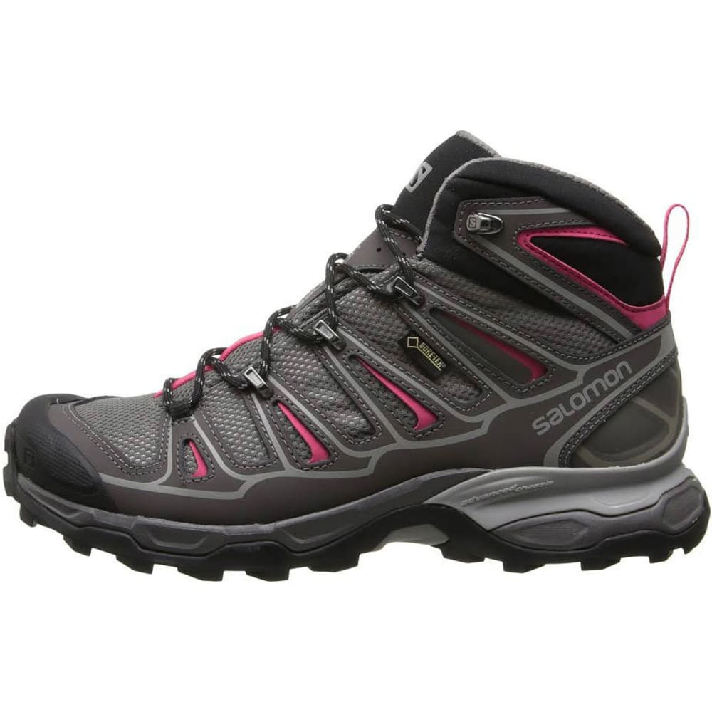 SALOMON Women's X Ultra Mid 2 GTX Hiking Boots - DETRIOT PINK