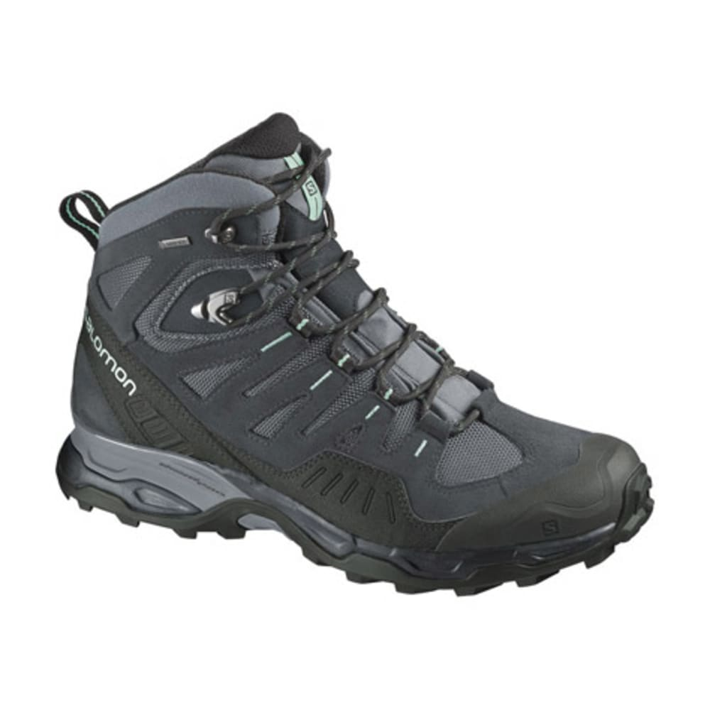 SALOMON Women's Conquest GTX Backpacking Boots, Pearl Grey