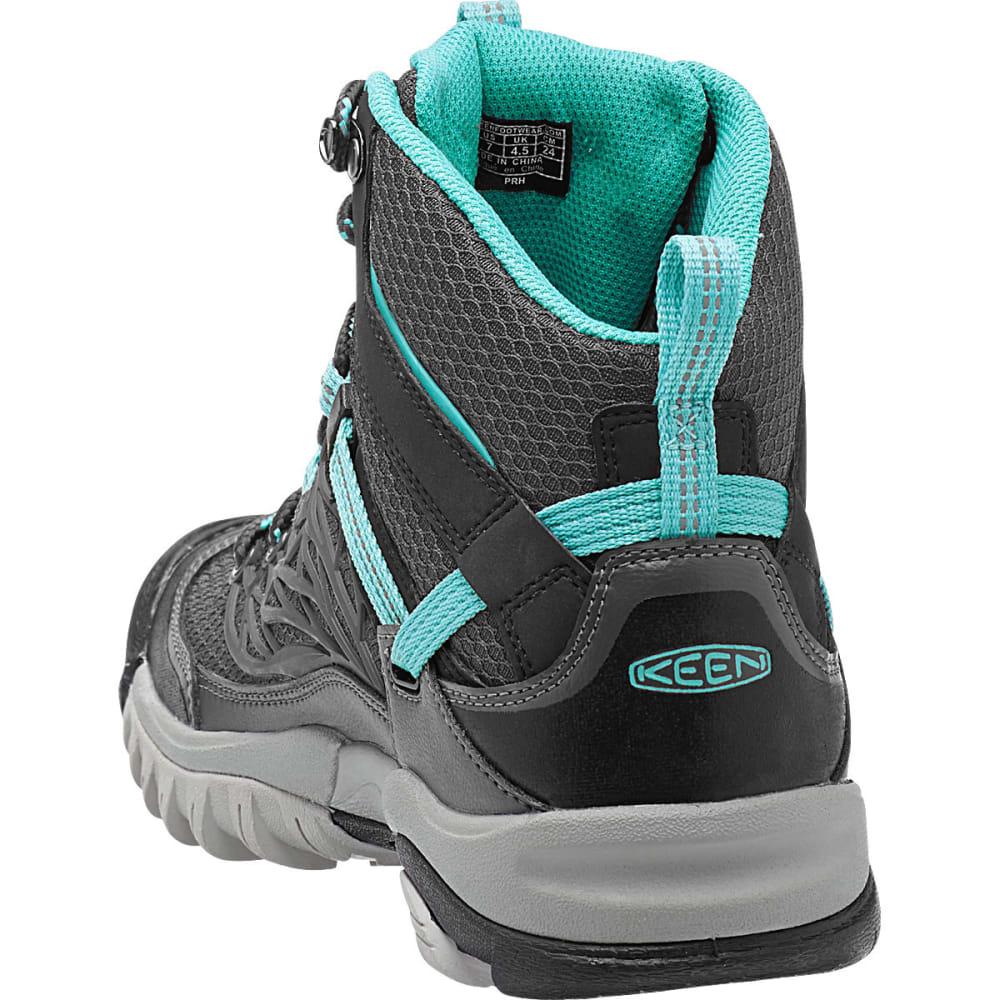 Excellent Keen Gypsum II Mid Womens Blue Waterproof Outdoors Walking Hiking Boots Shoes | EBay