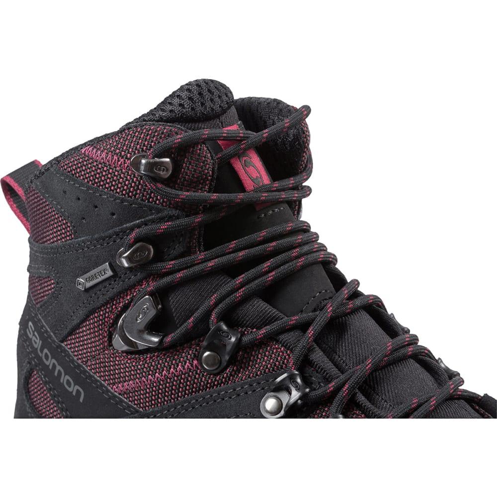 SALOMON Women's Discovery GTX Hiking Boots - BORDEAUX