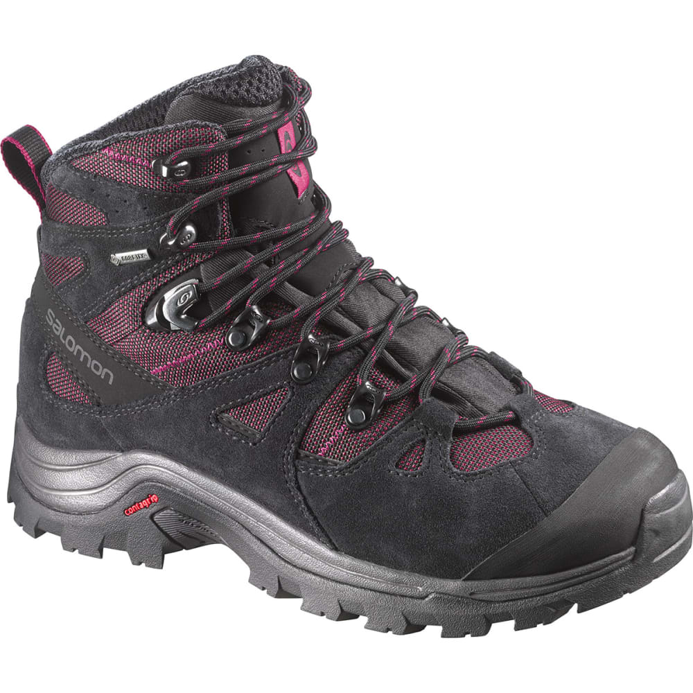SALOMON Women's Discovery GTX Hiking Boots - BORDEAUX