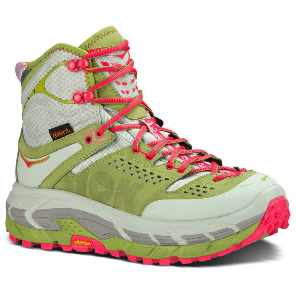 HOKA ONE ONE Women's Tor Ultra Hi WP Hiking Boots, Wide - FOG