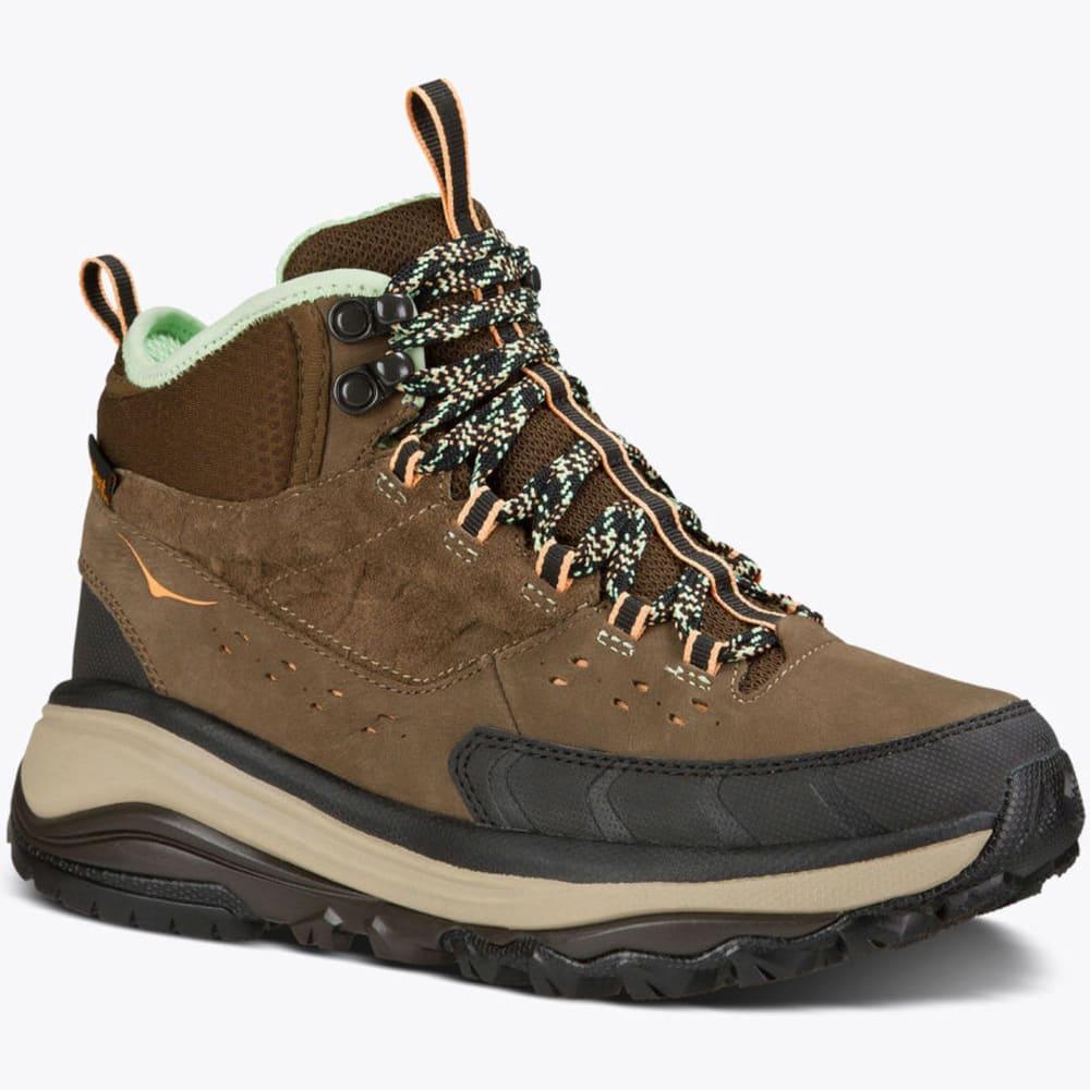 HOKA ONE ONE Women's Tor Summit Mid WP Hiking Boots - BROWN