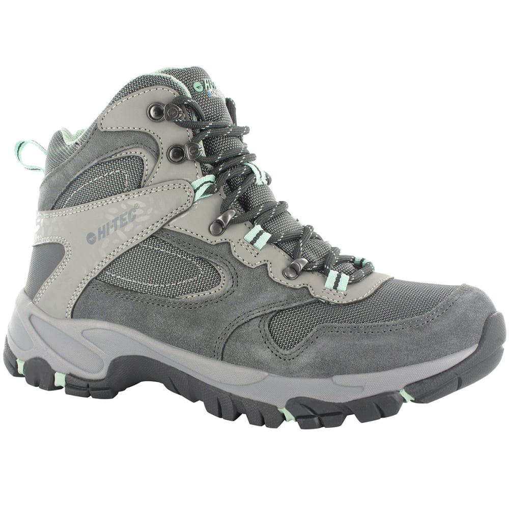 HI-TEC Women's Altitude Lite i Waterproof Hiking Boots - CHARCOAL/GREY/LICHEN