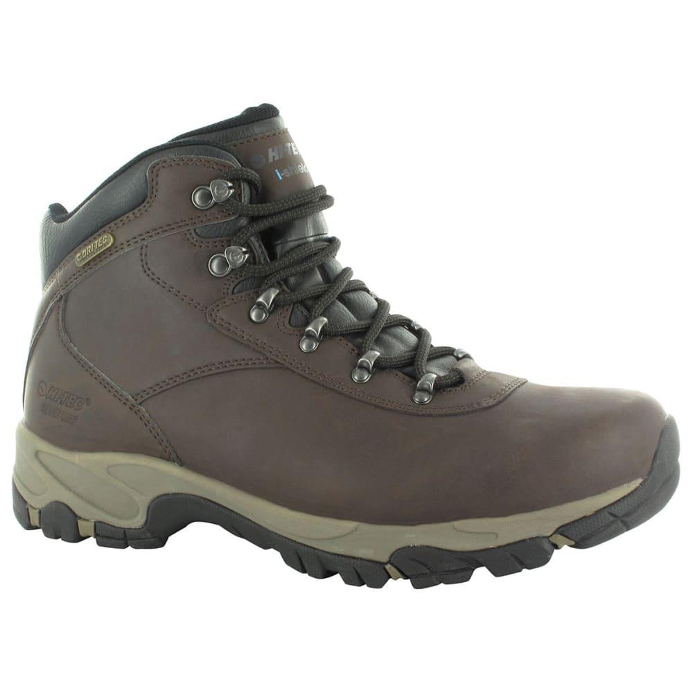 HI-TEC Women's Altitude V Waterproof Boots - DARK CHOCOLATE/BLACK
