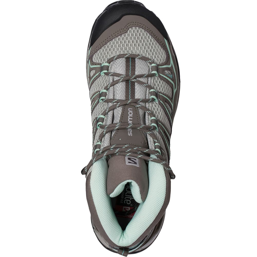 SALOMON Women's X Ultra Mid Aero Hiking Boots - TITANIUM