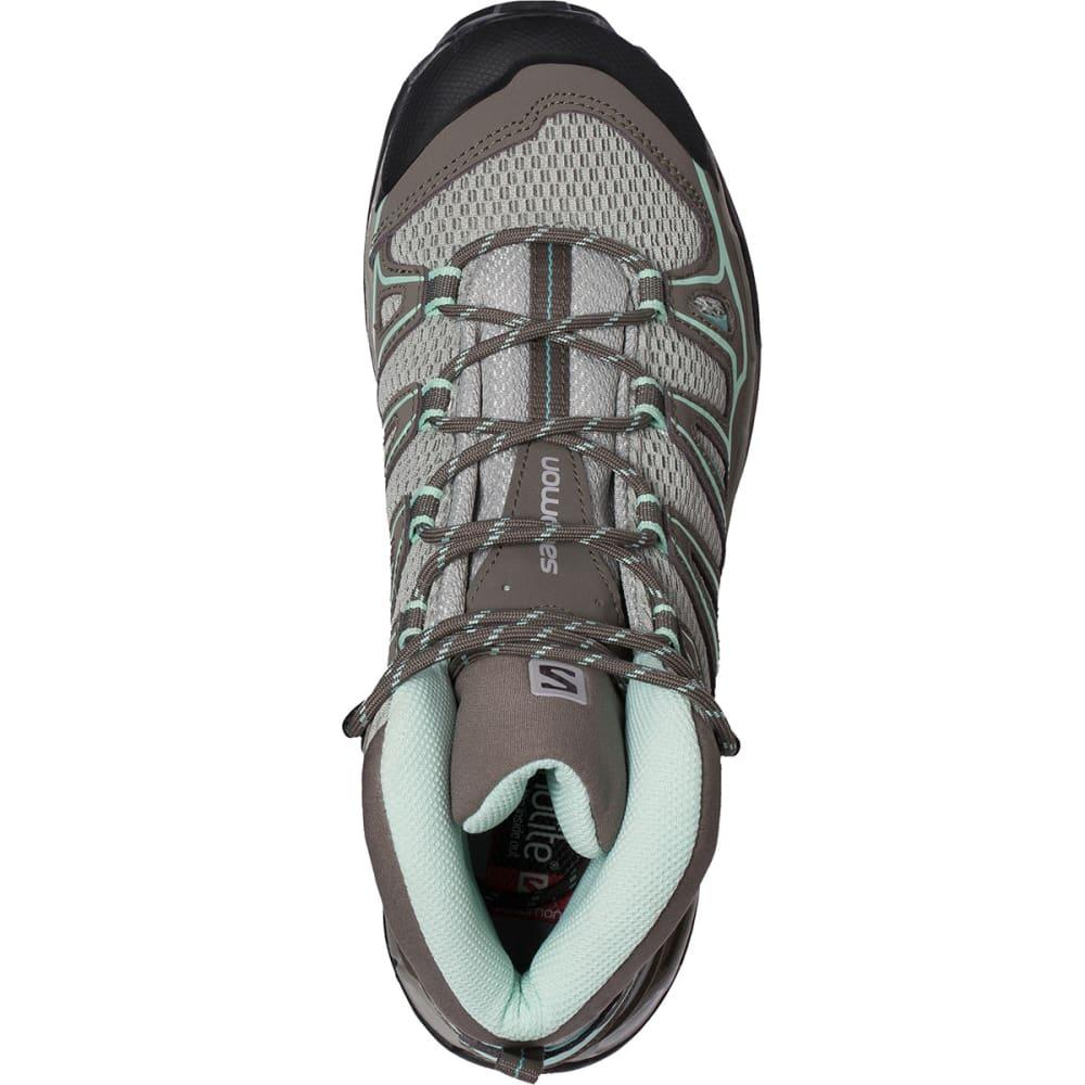 SALOMON Women's X Ultra Mid Aero Hiking Boots - TITANIUM