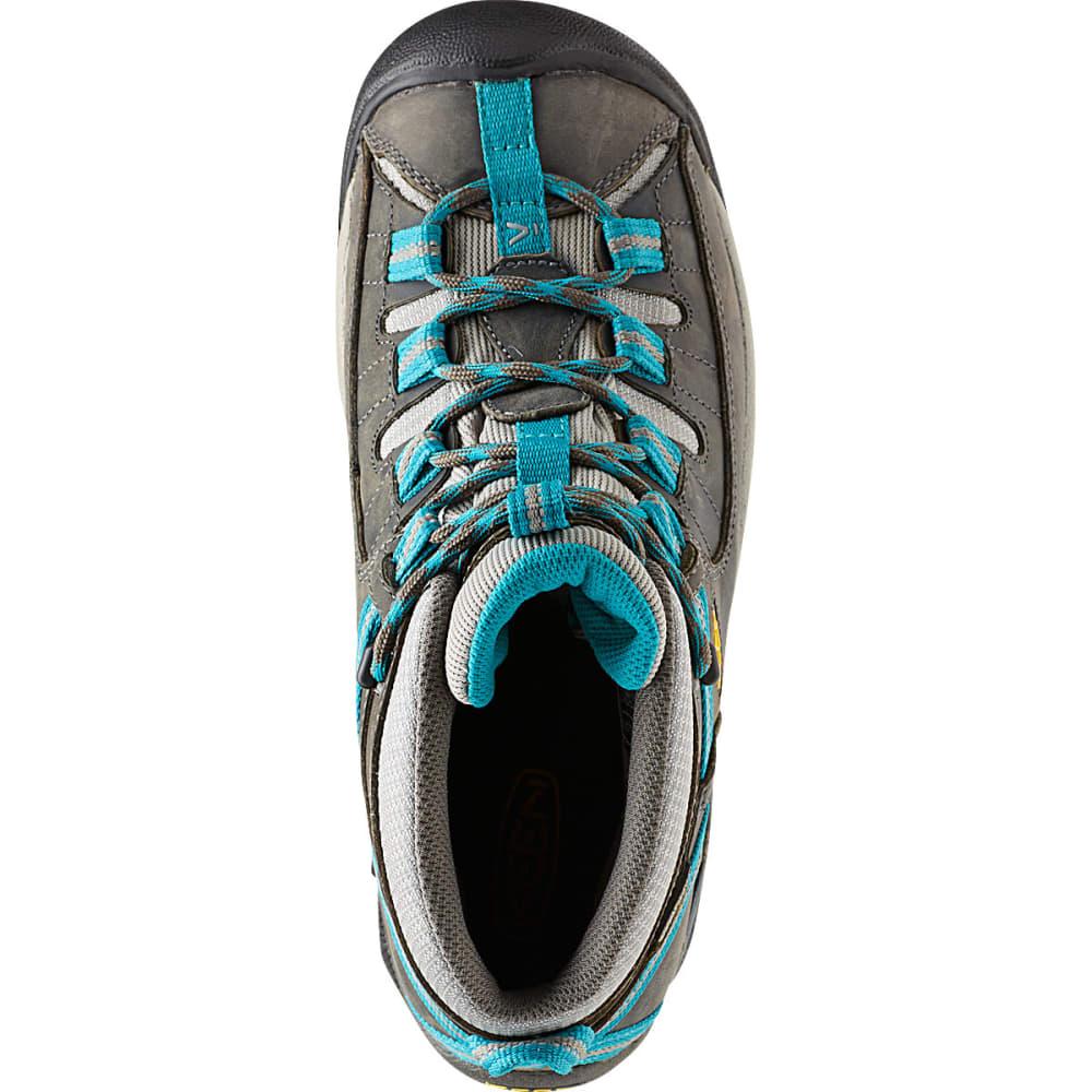a118fcdca8c KEEN Women's Targhee II Mid Waterproof Hiking Boots, Gargoyle ...