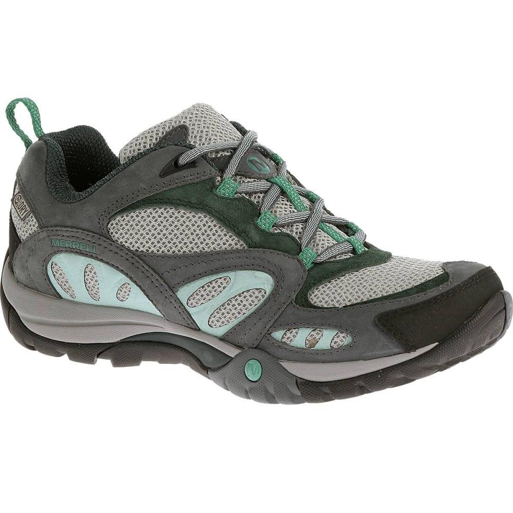 MERRELL Women's Azura Waterproof Hiking Shoes, Turbulence - TURBULENCE