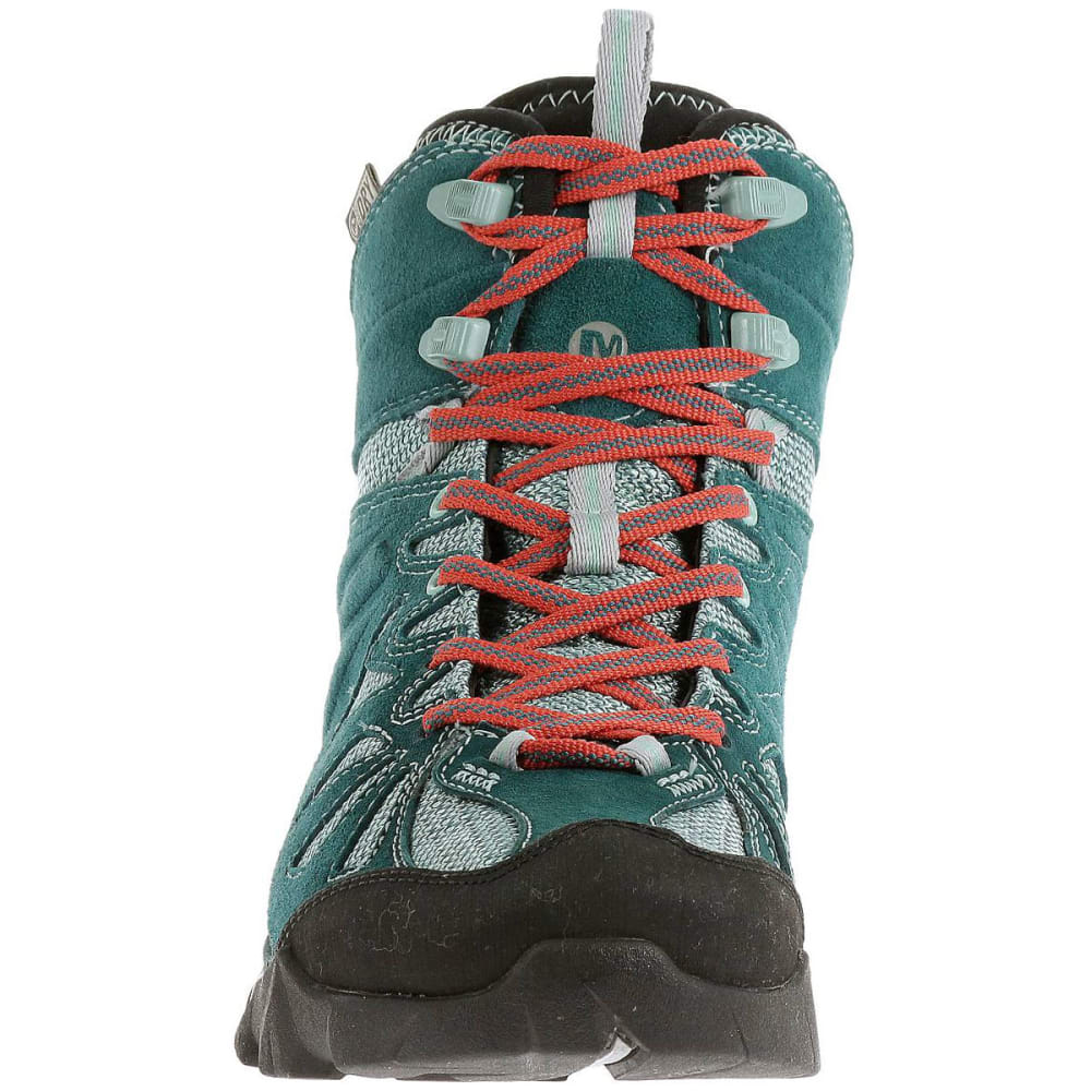 dff111ed2e3 MERRELL Women's Capra Mid Waterproof Hiking Boots, Dragonfly