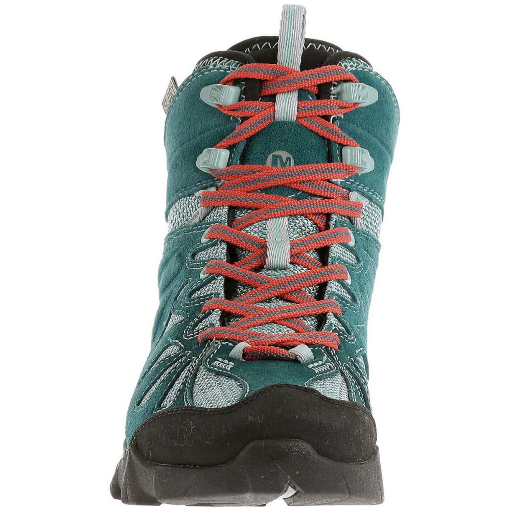 dff111ed2e3 MERRELL Women's Capra Mid Waterproof Hiking Boots, Dragonfly