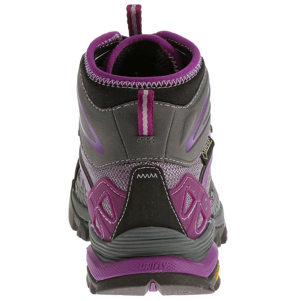 MERRELL Women's Capra Mid Sport GTX Hiking Boots, Purple - PURPLE