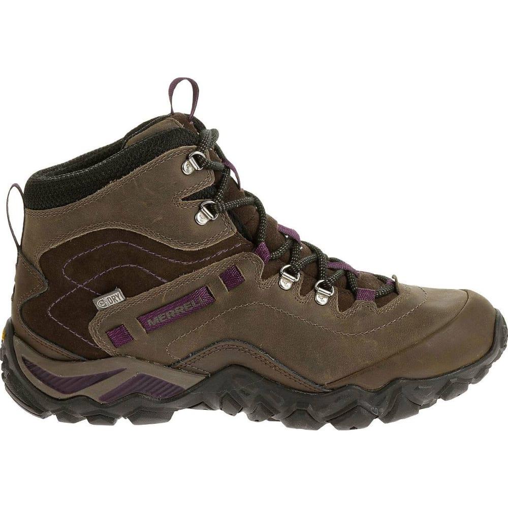 94e050d972d MERRELL Women's Chameleon Shift Traveler Mid Waterproof Hiking Boots ...