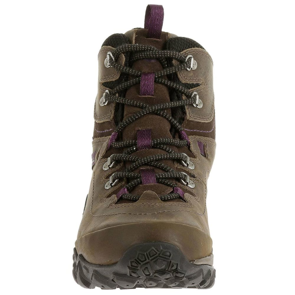 MERRELL Women's Chameleon Shift Traveler Mid Waterproof Hiking Boots, Olive - OLIVE