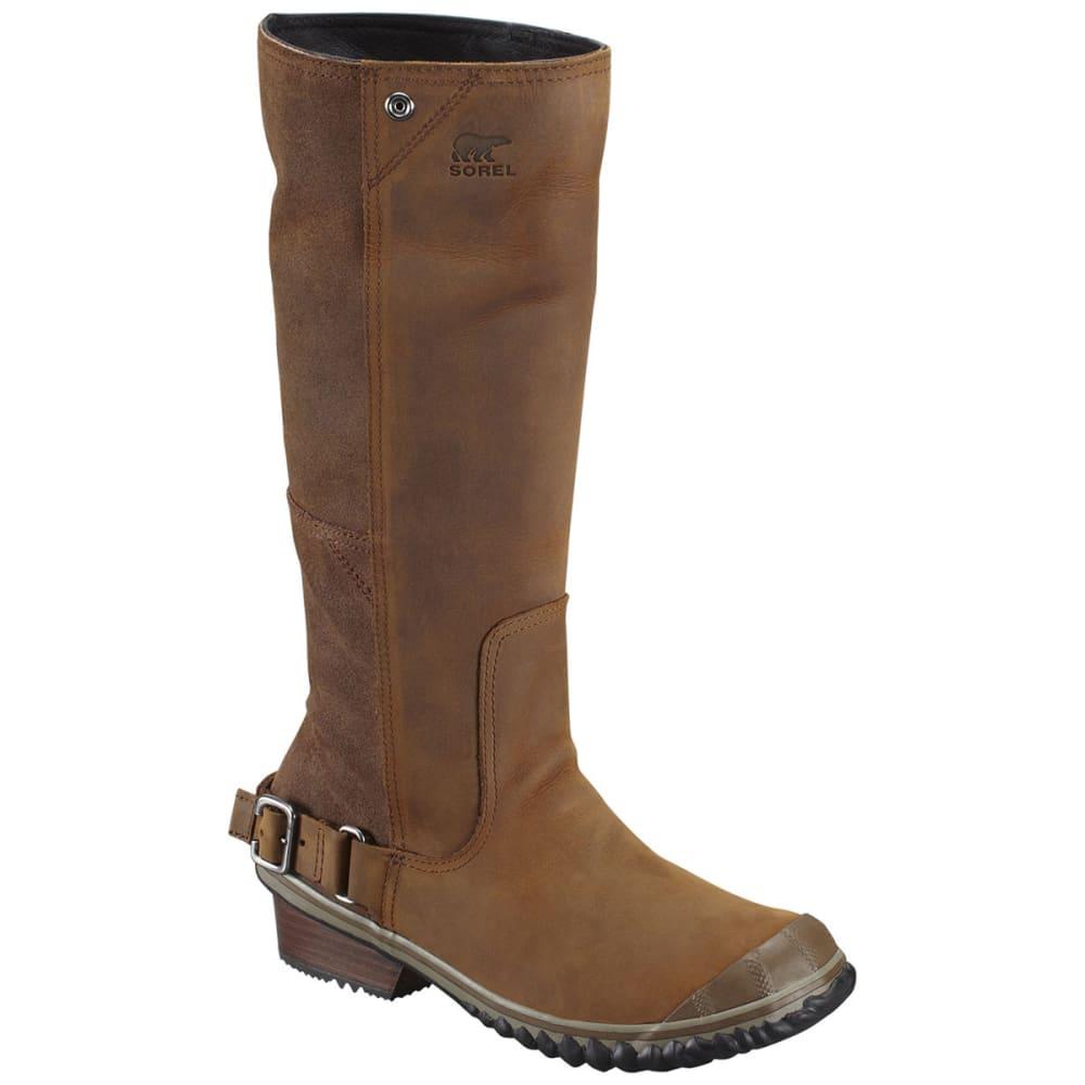 c7665c21fa2 SOREL Women's Slimboot Boots, Nutmeg/Coffee Bean
