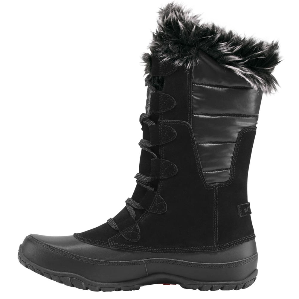 THE NORTH FACE Women's Nuptse Purna Winter Boots, Black - SHINY TNF BLACK