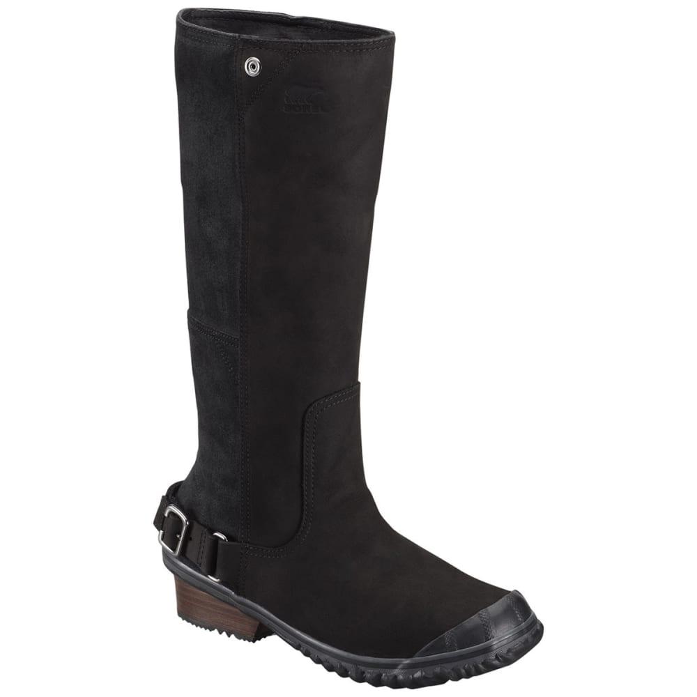 sorel s slimboot boots black grill