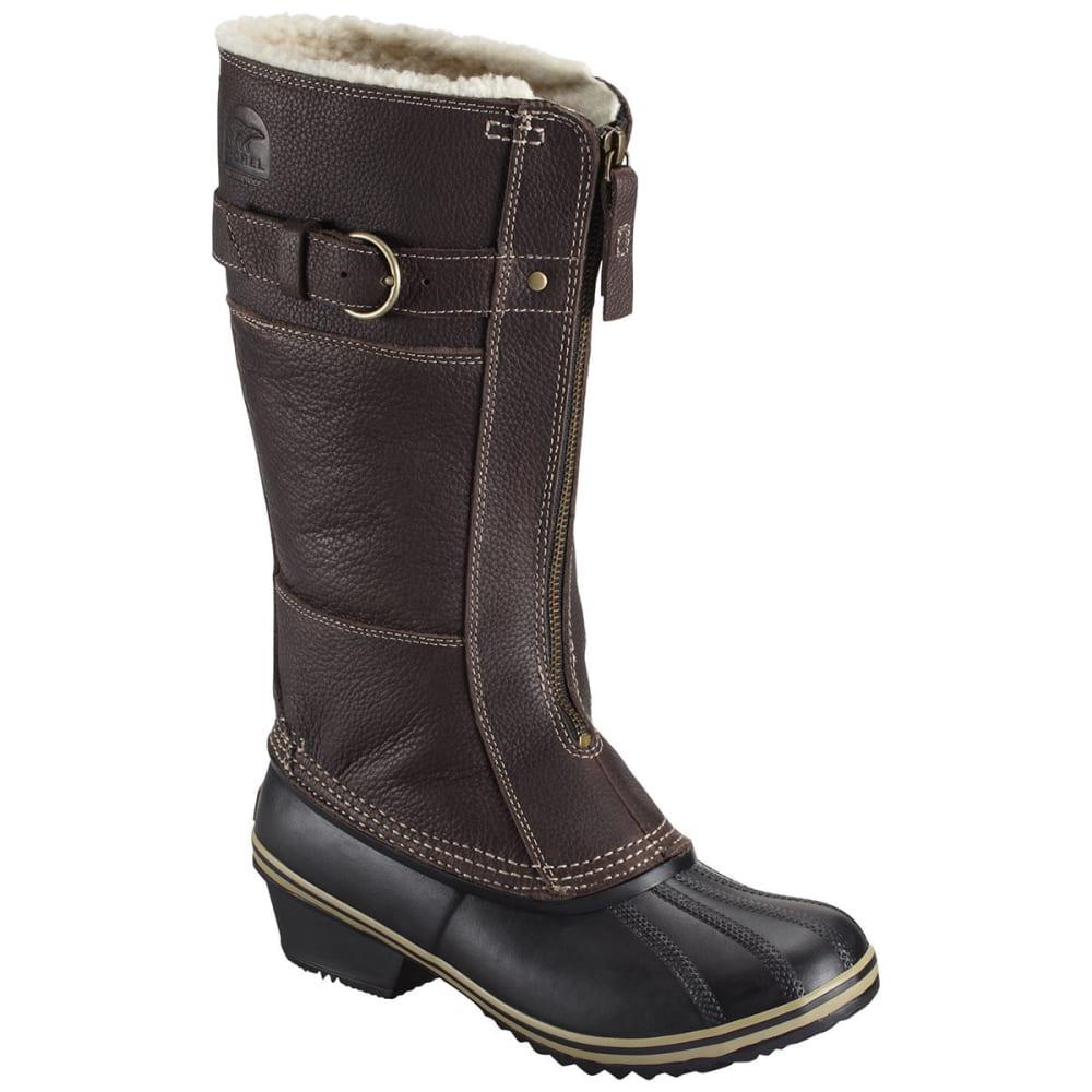 SOREL Women's Winter Fancy Tall II Winter Boots, Grizzly Bear